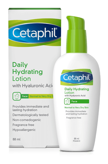 Cetaphil Face Daily Hydration Lotion with Hyaluronic Acid