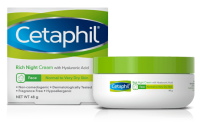 Cetaphil Face Rich Night Cream with Hyaluronic Acid